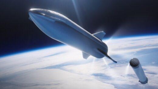 rakieta falcon - go pro